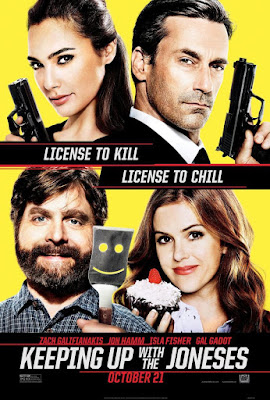 Keeping Up With The Joneses 2016 DVD R1 NTSC Latino