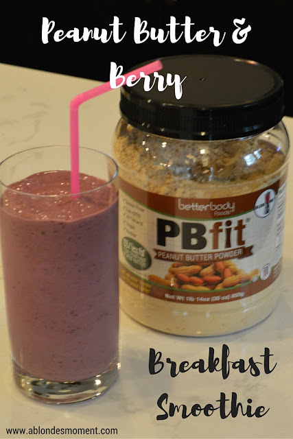 healthy-breakfast-smoothie-peanut-butter-berry