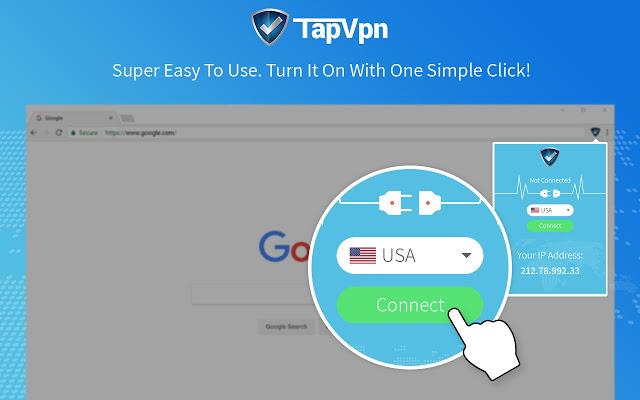 تحميل اضافة Tap VPN لتغيير الاي بي على جوجل كروم