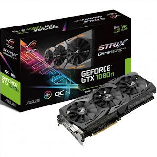 ASUS ROG STRIX GeForce GTX 1080 TI 11GB VR Ready 5K HD Gaming Graphics Card