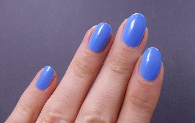 Alessandro Baby blue nail polish swatch review 4