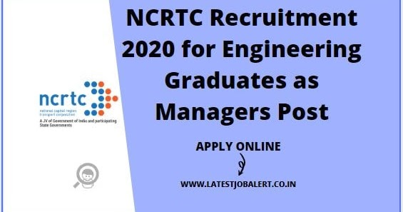 NCRTC-Recruitment-2020-for-Engineering-Graduates-as-Managers Online Form Job Th P on work home, to apply, data entry, searching for, stay home, philippines home-based,