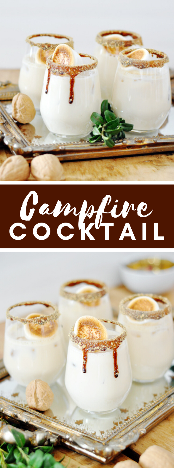 CAMPFIRE COCKTAIL #drinks #christmas