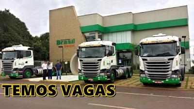 BRASIL CENTRAL ABRE VAGAS PARA MOTORISTA