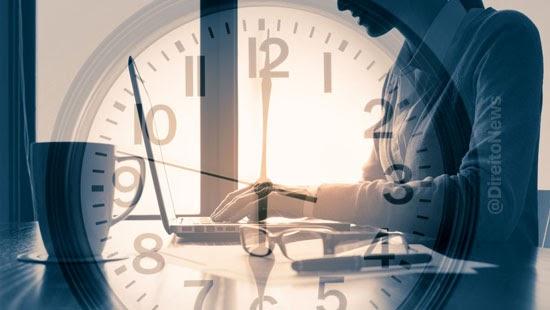 juiz horas extras funcionaria jornada remotamente