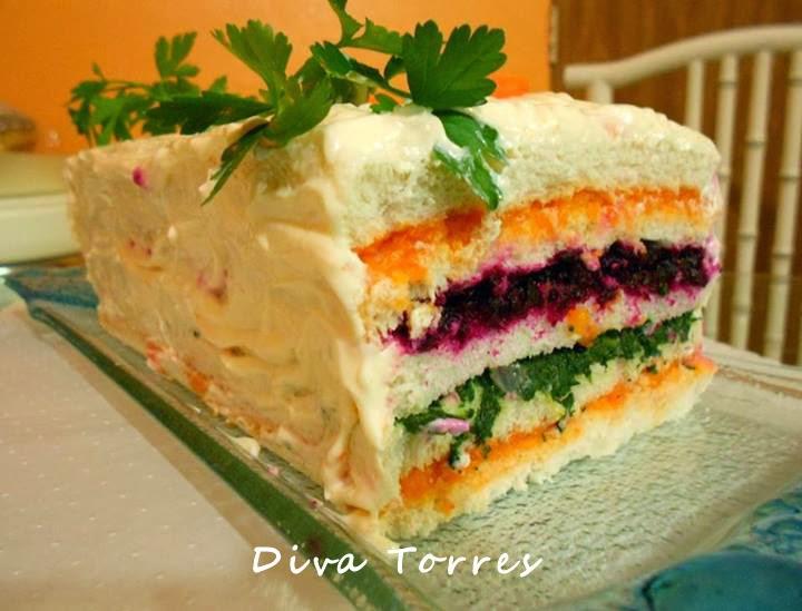 Torta Salgada Light  CulinriaReceitas  Mauro Rebelo