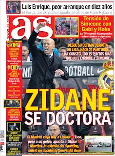 portada As prensa deportiva 21 11 2016