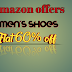 Men's shoes 60% OFF Amazon Offers-Inforkart