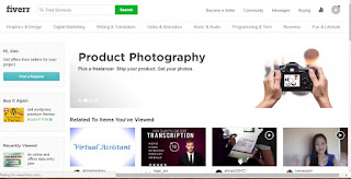 How to make money online working on Fiverr