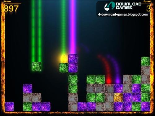 لعبة رص الطوب الملون Color Bricks