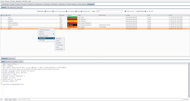 Progress-Burp - Burp Suite Extension To Track Vulnerability Assessment Progress