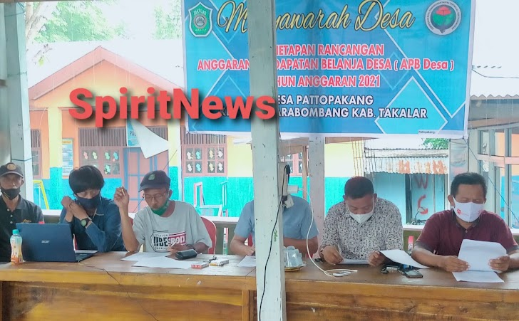 Musyawarah Desa Penetapan Rancangan Anggaran Pendapatan Belanja Desa ( APB Desa ) Tahun Anggaran 2021
