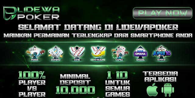 Situs Poker Online Deposit 10rb Bonus Selamat Datang 20%