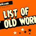 List of PTV Old Workers