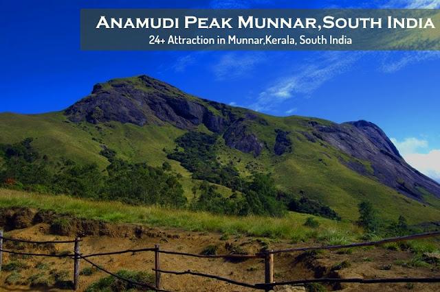 Munnar Attractions : Anamudi Peak Munnar