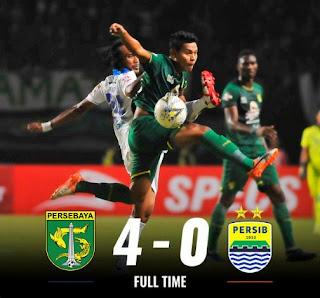 Persebaya vs Persib 4-0