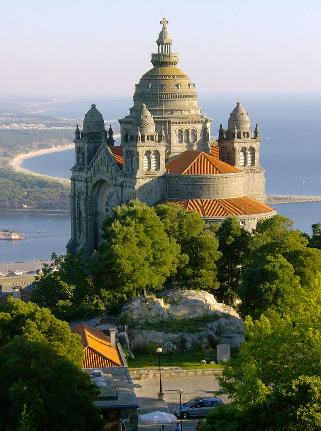 Merger Arbitrage - Facing the Atlantic the Cathedral of Santa Luzia, Viana do Castelo, Portugal.