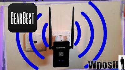 Comfast CF - WR302S 300Mbps WiFi Repeater  : مضاعف الشبكات الويفي اللاسلكية يمكن من مضاعفة الشبكة للحصول على اشارة قوية في جميع انحاء المنزل او مكان يمكن من خلال هذا جهاز ايضا استقبال الشبكات وتحويلها أما لشبكة ويفي اخرى أو تحويلها لجهاز عبر كابل وكذالك الجهاز يمكنك من اتصال بالأنترنت مباشرة من خلال نمط الروتر الموجود بداخله يعني ثلاثة اجهزة في جهاز واحد ويحتوي على أنتينتان بسرعة نقل بينات تصل 300 ميجا في ثانية واحدة كل هذا بتركيبه في مقبص الكهرباء فقط  ..  Model: CF - WR302S  Type: Repeater  Interface: LAN,WAN  Router Connectivity Type: Ethernet,Wireless  Transmission Rate: 300Mbps  Network Protocols: IEEE 802.11b,IEEE 802.11g,IEEE 802.11n  Wireless Standard: Wireless G,Wireless N  LAN Ports: Under 2 ports  Max. LAN Data Rate: 300Mbps  Gain dBi: 5dBi   Quantity of Antenna: 2 شرح طريق الاستخدام عبر الفيديو التالي فرجة ممتعة .