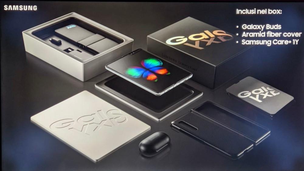 Samsung Galaxy Fold anche in Italia