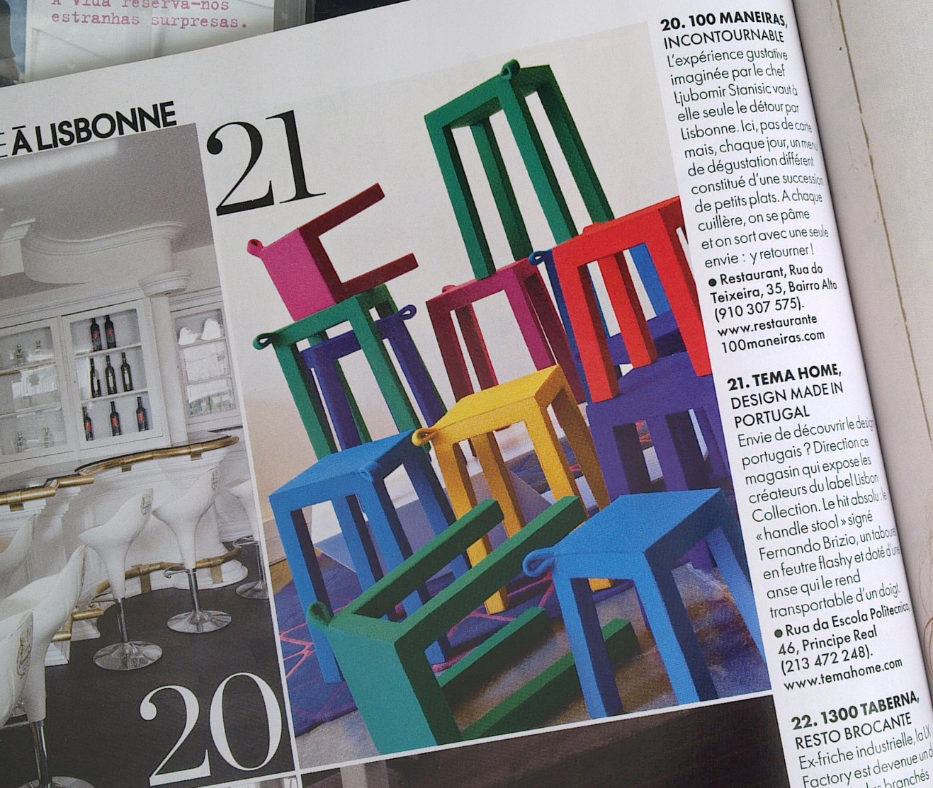 Elle Decoration France Temahome The Handle Elle Decoration France