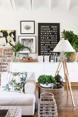 Greenery Pantone Colour of the Year 15-0343 Clean White Natural Interiors