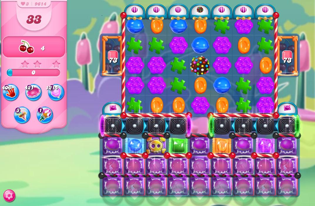 Candy Crush Saga level 9614