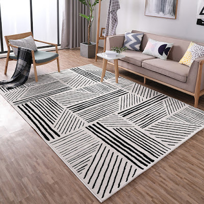 Desain Interior Apartemen Bertema Geometris