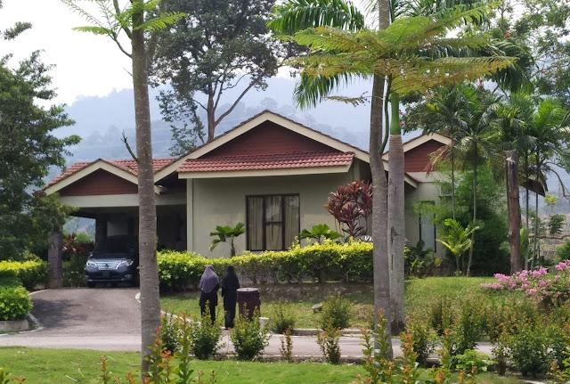 Cuti best dengan anak-anak di Sungkai, Perak