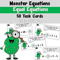 equal equations using single digits