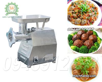 Máy thái nghiền thịt công nghiệp