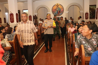 Polda NTB dan Korem 162/WB Jamin Keamanan Perayaan Natal dan Tahun Baru 2019