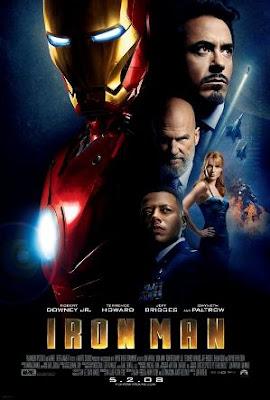 Póster de la primera película de Iron Man