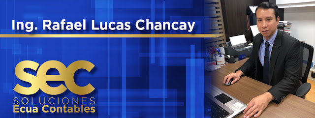 C.P.A.: Ing. Rafael Lucas Chancay, asesoría contable y financiera.