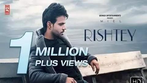 Rishtey Lyrics in Punjabi Font | Miel