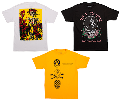 Grateful Dead by PLEASURES Clothing Capsule Collection