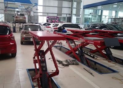 Cầu nâng cắt kéo là gì? Một số loại cầu nâng cắt kéo ô tô giá rẻ được sử dụng hiện nay