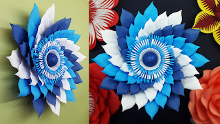 Diy Paper Flowers Wall Decorations