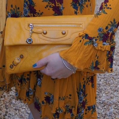 Balenciaga envelope clutch in 2012 mangue with giant 12 RGGH | awayfromtheblue
