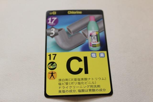 記号 cl 元素