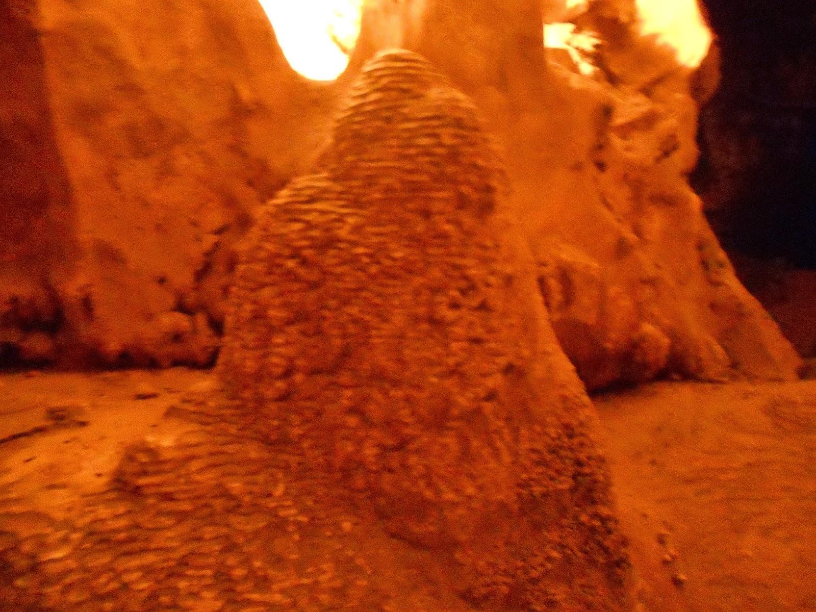 inside colossal cave tucson arizona cave tour