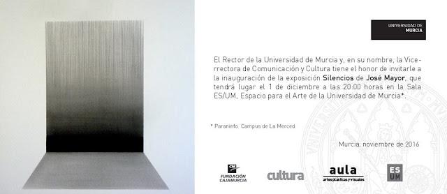 """Exposición: """"Silencios"""" de José Mayor."""