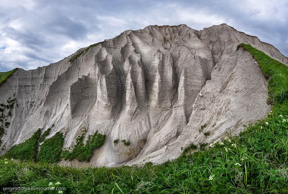 White Cliffs of Iturup Island