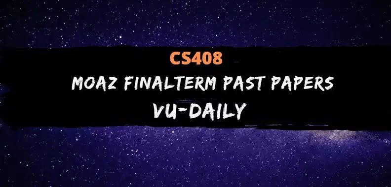 cs408 moaz