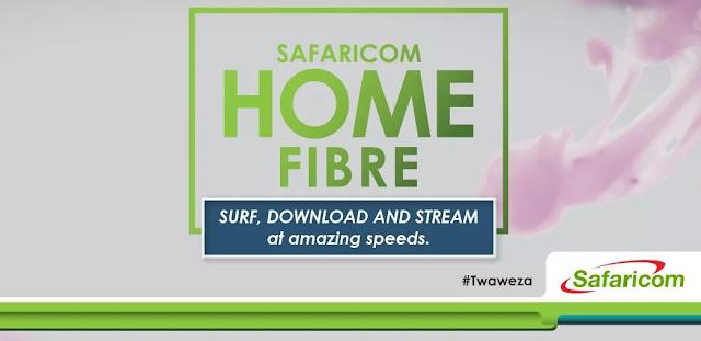 How to Pay For Safaricom Home Fibre via Mpesa