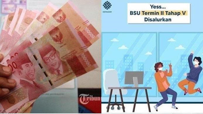 Info Terbaru! BSU Cair Lagi, www.kemnaker.go.id Login Cek Nama Penerima BLT Subsidi Gaji