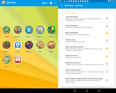 android tablet parental control app free