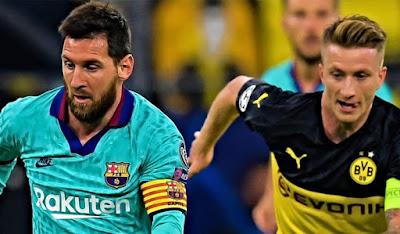 مباراة برشلونة و بروسيا دورتموند بجودة عالية