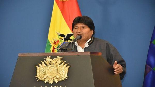 Evo Morales repudia consecuencias de políticas del FMI