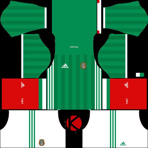 Mexico Kits 2017 -  Dream League Soccer