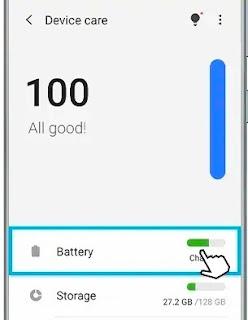 Mengisi baterai cepat samsung